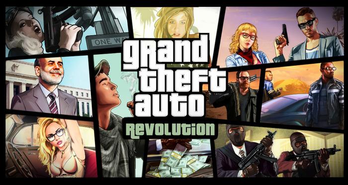 Grand Theft Auto Revolution Cover