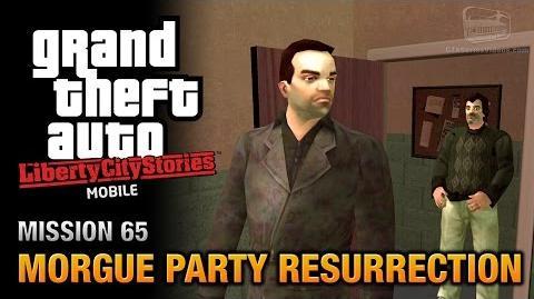 GTA Liberty City Stories Mobile - Mission 65 - Morgue Party Resurrection