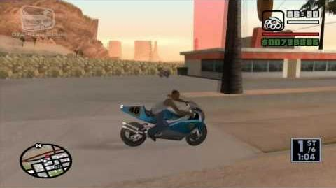 GTA San Andreas - Walkthrough - Street Race - Dam Rider (HD)