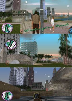 GTAVC HiddenPack 12 Washington Canal S. Stone Bridge