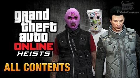 GTA Online Heists All DLC Contents