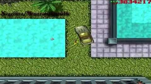 Paddling in Grand Theft Auto 1
