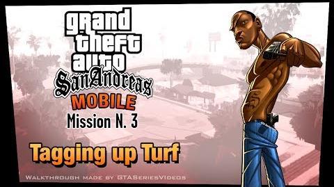 GTA San Andreas - iPad Walkthrough - Mission 3 - Tagging Up Turf (HD)