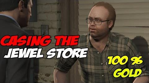 Casing The Jewel Store - GTA 5 100 % Gold