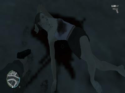 GTA IV Teen Girl Dead