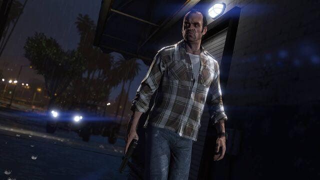 File:Official PC Screenshot GTAV Facebook Trevor Night.jpg