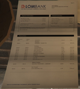 Lombank Statement GTAV Franklins House