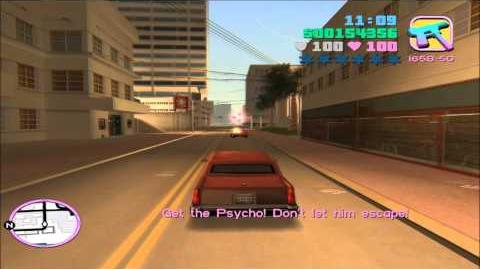 "GTA Vice City Walkthrough HD - Mission 35 "" Psycho Killer """