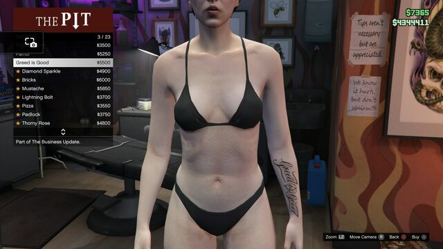 File:Tattoo GTAV-Online Female Left Arm Greed is Good.jpg