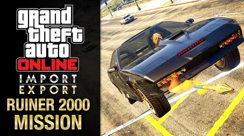 GTA Online Import Export - Special Vehicle Work 8 - Ruiner 2000 (Arms Embargo)