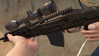 Marksman Rifle-GTAV-Markings