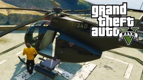 GTA 5 - Free Buzzard Location ($2 Million Dollars) (GTA V)