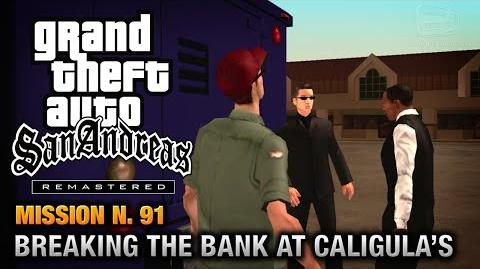 GTA San Andreas Remastered - Mission 91 - Breaking the Bank at Caligula's (Xbox 360 PS3)