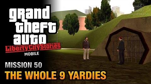 GTA Liberty City Stories Mobile - Mission 50 - The Whole 9 Yardies