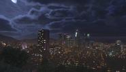 Los Santos at Night - GTAV