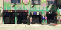 The Pink Palms Beach Shop