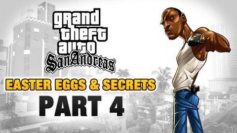 GTA San Andreas - Easter Eggs and Secrets - Part 4