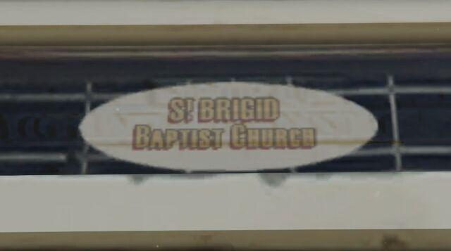 File:StBrigidBaptistChurch-Chaparral-Sign.jpg