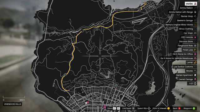 File:Vehicle Import Race Bet GTAO Richman to Sandy Shores Map.png