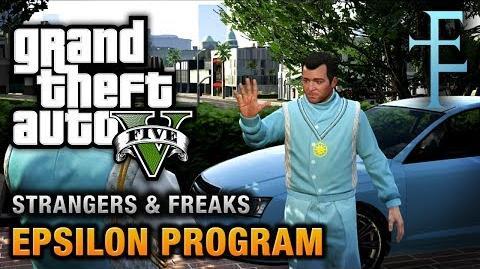 GTA 5 - Strangers and Freaks - Epsilon Program (Kifflom! Achievement Trophy)