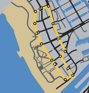 Sundae Drive GTAO Race Map