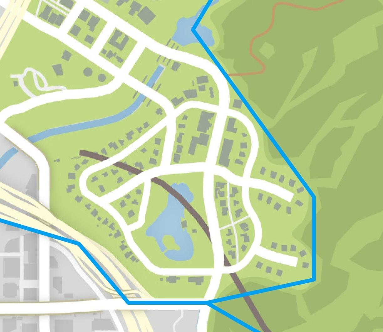 Mirror Park GTA Wiki FANDOM Powered By Wikia - Los angeles map silver lake