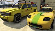 Lifeguard GTAV Yellow vs Lime Green