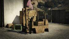 Forklift Wreck GTA V