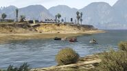 Sea Race Lago Zancudo GTAV Start Point