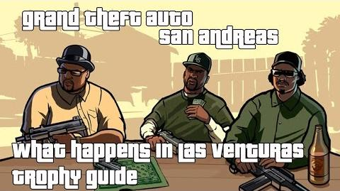 Grand Theft Auto San Andreas (PS3 PS4) - What Happens in Las Venturas... Trophy Guide