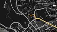 Vehicle Export Specialist GTAO Americano Way Map