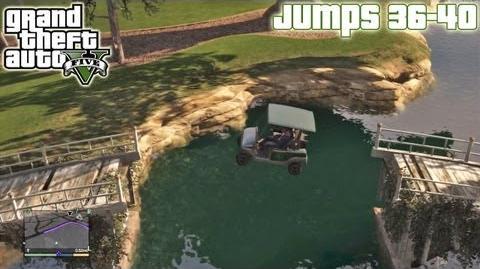 GTA5 Stunt Jumps 36-40 (Tutorial) Grand Theft Auto V PS3 Xbox 360 ᴴᴰ
