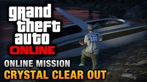 GTA Online - Mission - Crystal Clear Out Hard Difficulty