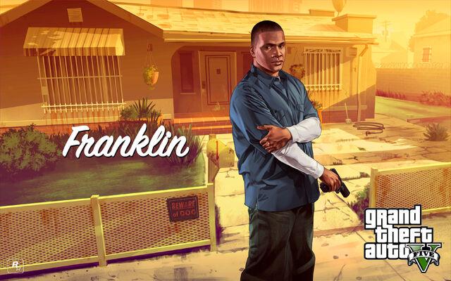 File:Franklin Art-GTAV.jpg