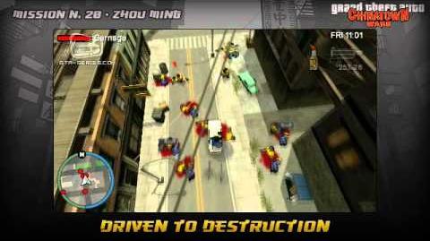 GTA Chinatown Wars - Walkthrough - Mission 20 - Driven to Destruction