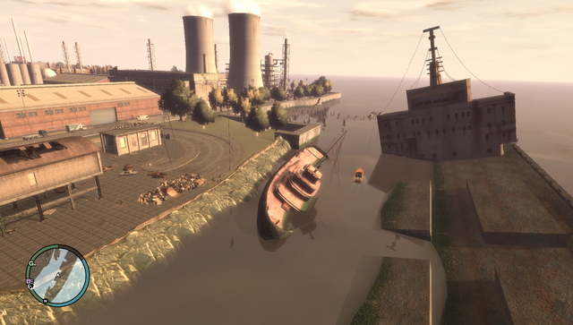 File:Wreck Tug5 GTAIV Wreckage from air.png