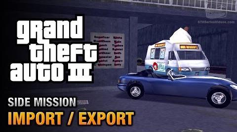 GTA 3 - Import Export