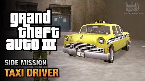 GTA 3 - Taxi Driver