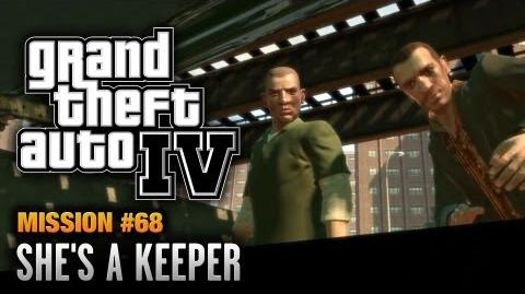 GTA 4 - Mission 68 - She's a Keeper (1080p)