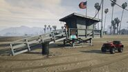 Lifeguard GTAVe Vespucci Watchtower with Blazer
