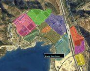 Grapeseed Land Survey GTAV Map Shady Tree Farm