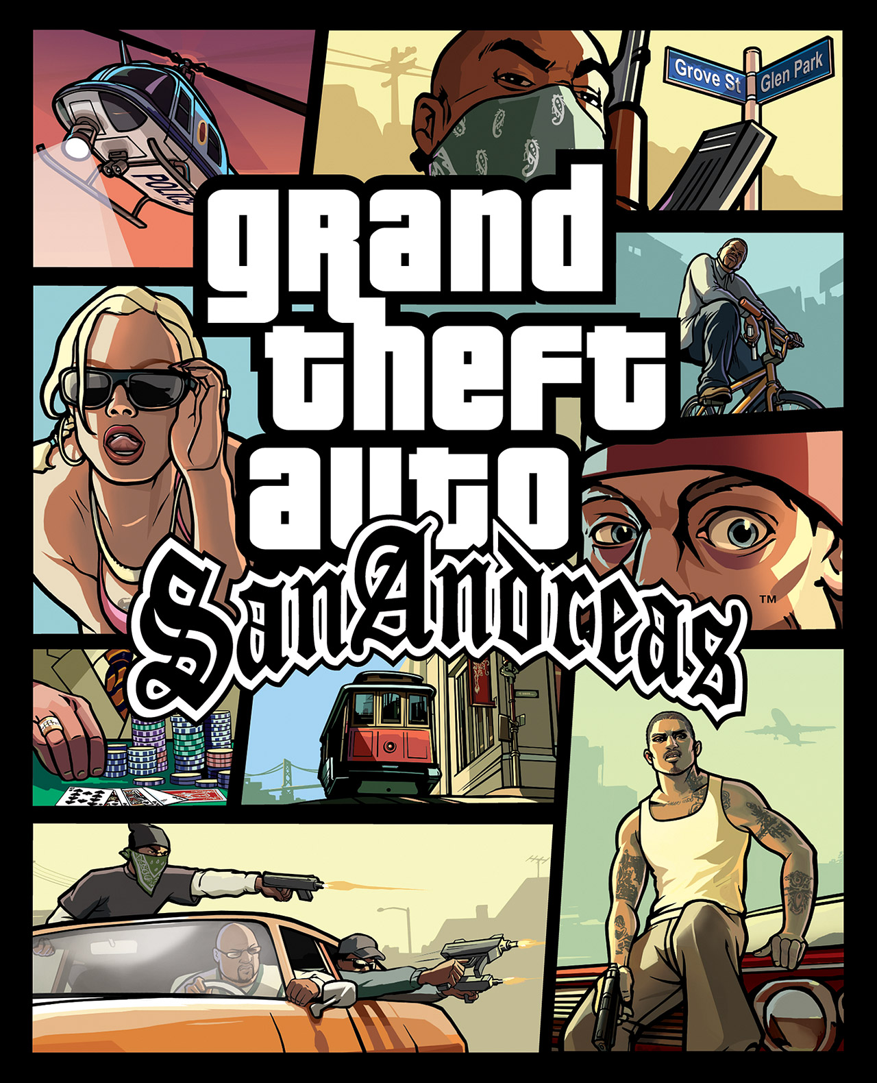 Grand theft auto san andreas 007 mod