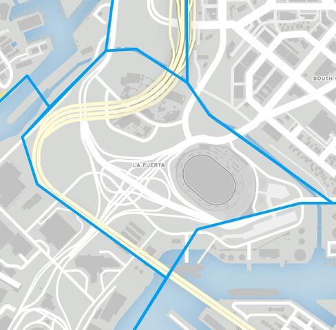 File:LaPuerta-GTAV-map.jpg