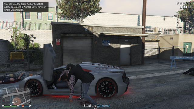File:Vehicle Import Crime Scene GTAO Getting the Car.png