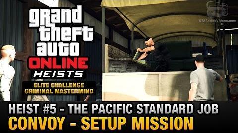 GTA Online Heist 5 - The Pacific Standard Job - Convoy (Criminal Mastermind)-0