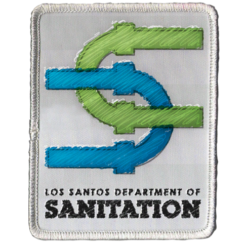 File:Los Santos Department of Sanitation Patch GTAV.png
