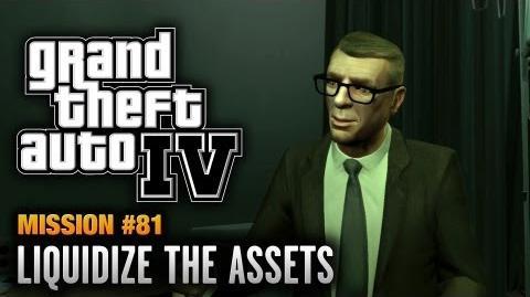 GTA 4 - Mission 81 - Liquidize the Assets (1080p)