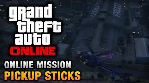 GTA Online - Mission - Pickup Sticks Hard Difficulty