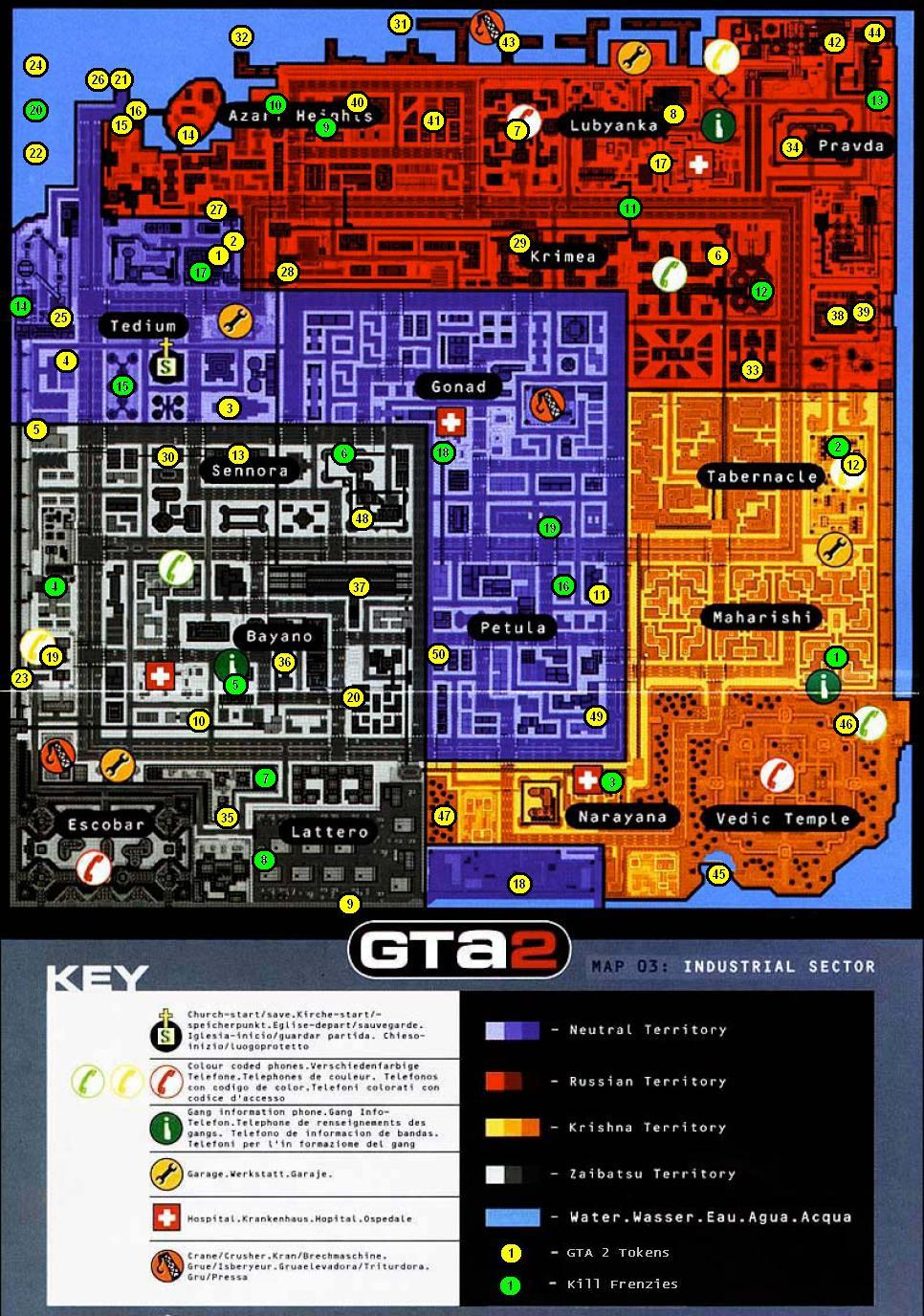 Gta 2 gameboy color - Industrial