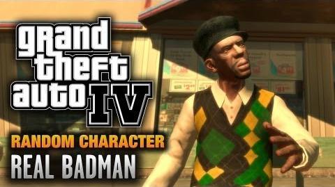GTA 4 - Random Character 2 - Badman (1080p)